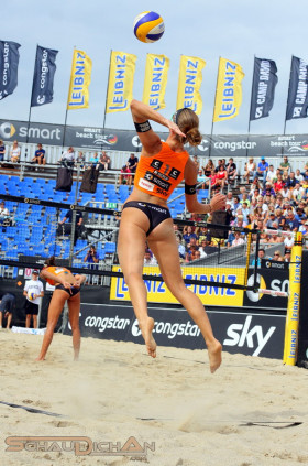 Deutsche Beach-Volleyball Meisterschaft 2013 in Timmendorfer Strand