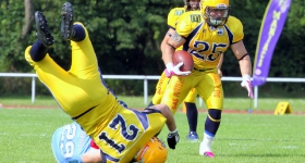Elmshorn Fighting Pirates vs. Bonn Gamecocks (18.07.2015)
