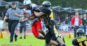 Hamburg Huskies vs. Berlin Adler (29.08.2015)