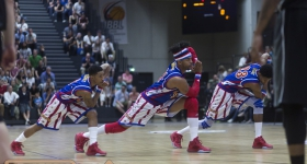 The Harlem Globetrotters in Hamburg (10.05.2016)