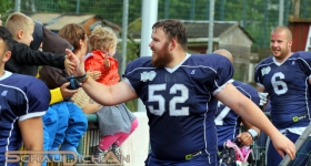 Norderstedt Mustangs vs. Hamburg Blue Devils (02.07.2016)