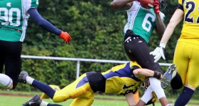 Elmshorn Fighting Pirates vs. Hannover Spartans (16.07.2016)
