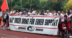 Hamburg Huskies vs. Dresden Monarchs (03.09.2016)