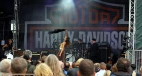 Patricia Vonne auf den Hamburg Harley Days 2017