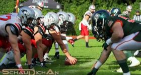 Hamburg Huskies vs. Kiel Baltic Hurricanes (09.09.2017)