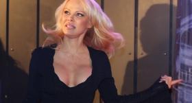 Pamela Anderson und Hans Klok in Hamburg (16.01.2018)