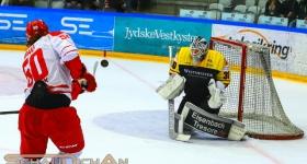 Eishockey-Länderspiel Dänemark vs. Deutschland (25.04.2018)
