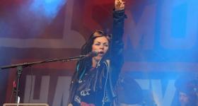 Dilana auf den Hamburg Harley Days 2018 (23.06.18)