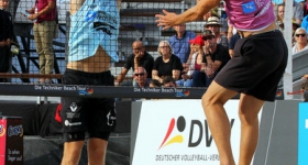 Deutsche Beach-Volleyball Meisterschaft 2018 in Timmendorfer Strand