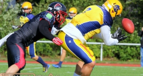 Elmshorn Fighting Pirates vs. Solingen Paladins (08.09.2018)