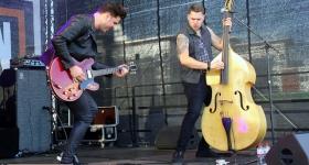 John Lindberg Trio auf den Hamburg Harley Days 2019