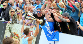 Deutsche Beach-Volleyball Meisterschaft 2019  in Timmendorfer Strand