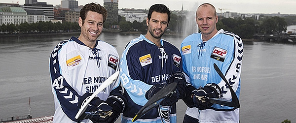 Hamburg Freezers Trikotpräsentation