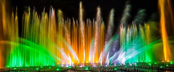 Wasserlichtspiele in Planten un Blomen