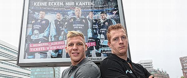 Hamburg Freezers Saisonkampagne