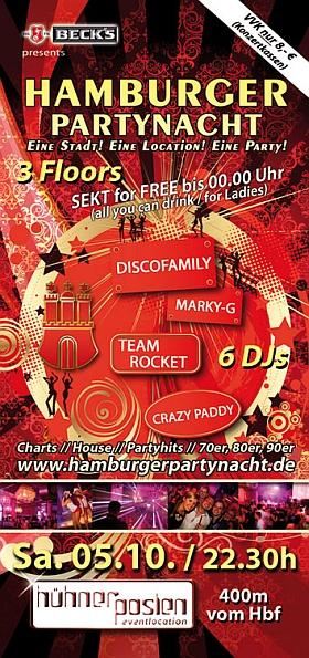 Hamburger Partynacht meets Oktoberfest