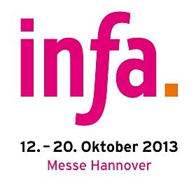 infa 2013 Messegelände Hannover