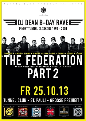 The DJ Dean B-Day Rave Tunnel