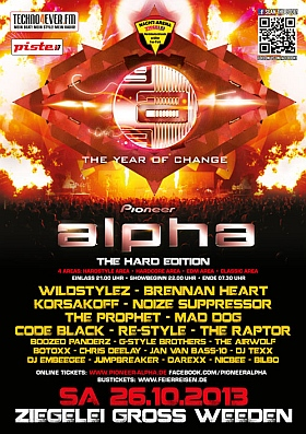 Pioneer Alpha Festival 2013 Hard Edition