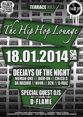 The Hip Hop Lounge Terrace Hill
