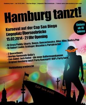 Hamburg tanzt Cap San Diego
