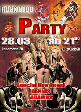 Rock Club Party Kasematte 20 Hamburg