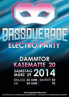 Bassquerade Electro Party Kasematte 20 Hamburg