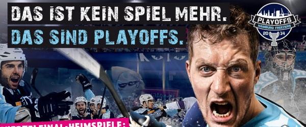 Hamburg Freezers Playoffs 2014