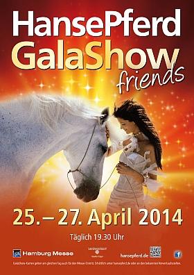 HansePferd GalaShow 2014 Hamburg Messe