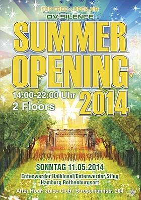 ov-silence Summer Opening Hamburg 2014