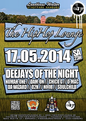 The Hip Hop Lounge 2014 Stadtpark Hamburg