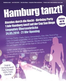 Hamburg tanzt 2014 Cap San Diego