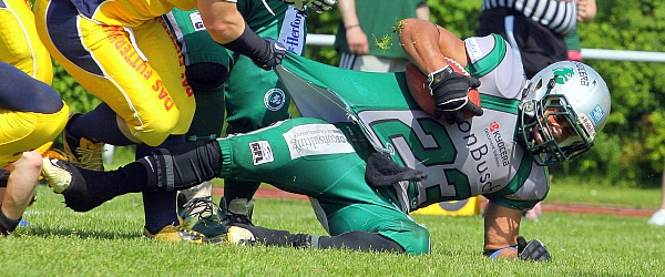 Elmshorn Fighting Pirates vs. Bielefeld Bulldogs 2014