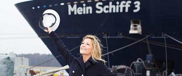 Taufe von Mein Schiff 3 am 12.06.2014 mit Live-Konzert von Taufpatin Helene Fischer