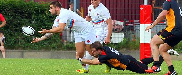 Rugby WM Qualifikationsspiel Deutschland Russland 2014