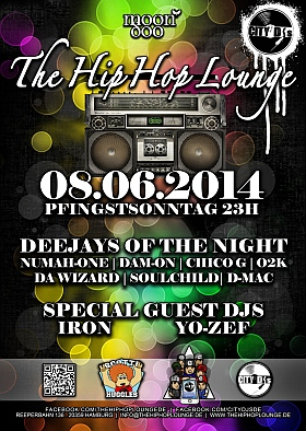 The Hip Hop Lounge 2014 Moondoo Hamburg
