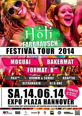 Holi Farbrausch Festival 2014 Hannover