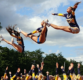 Elmshorn Maniacs Cheerleader 2014