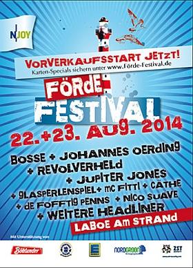 Förde Festival 2014 Kurstrand Laboe
