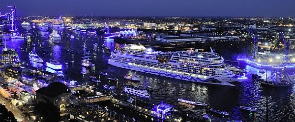 AIDA Cruises feiert die Hamburg Cruise Days 2014