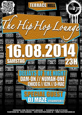 The Hip Hop Lounge 2014 Terrace Hill Hamburg