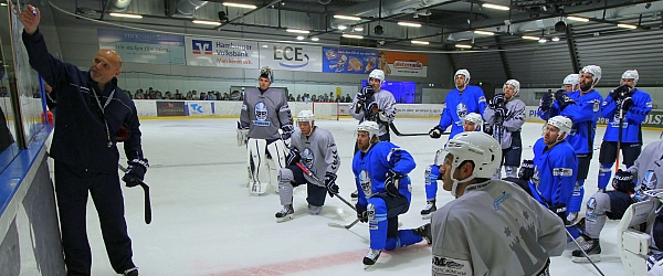 Trainingsauftakt der Hamburg Freezers