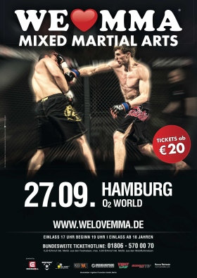 We love MMA 2014 Hamburg
