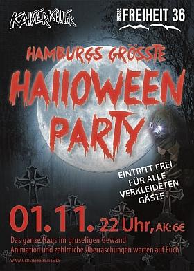 Halloween Party Grosse Freiheit 36 Hamburg 2014