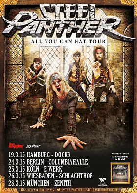 Steel Panther All You Can Eat Tour 2015