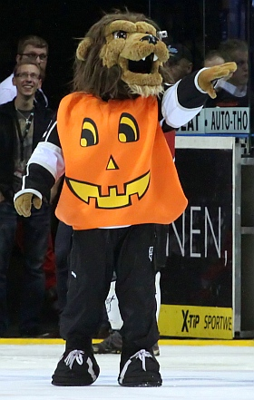 Hamburg Freezers Augsburger Panther DEL Eishockey 2014 Halloween