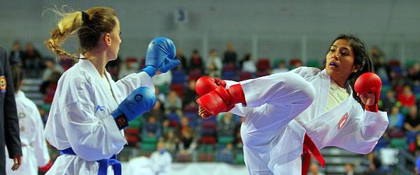 Karate WM 2014 Weltmeisterschaft Bremen