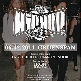 The Hip Hop Lounge Gruenspan Hamburg 2014