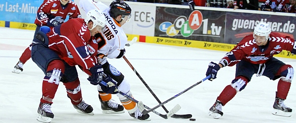 Hamburg Freezers Grizzly Adams Wolfsburg Eishockey DEL 2014