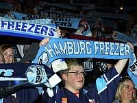 Hamburg Freezers Schwenninger Wild Wings Eishockey DEL 2014